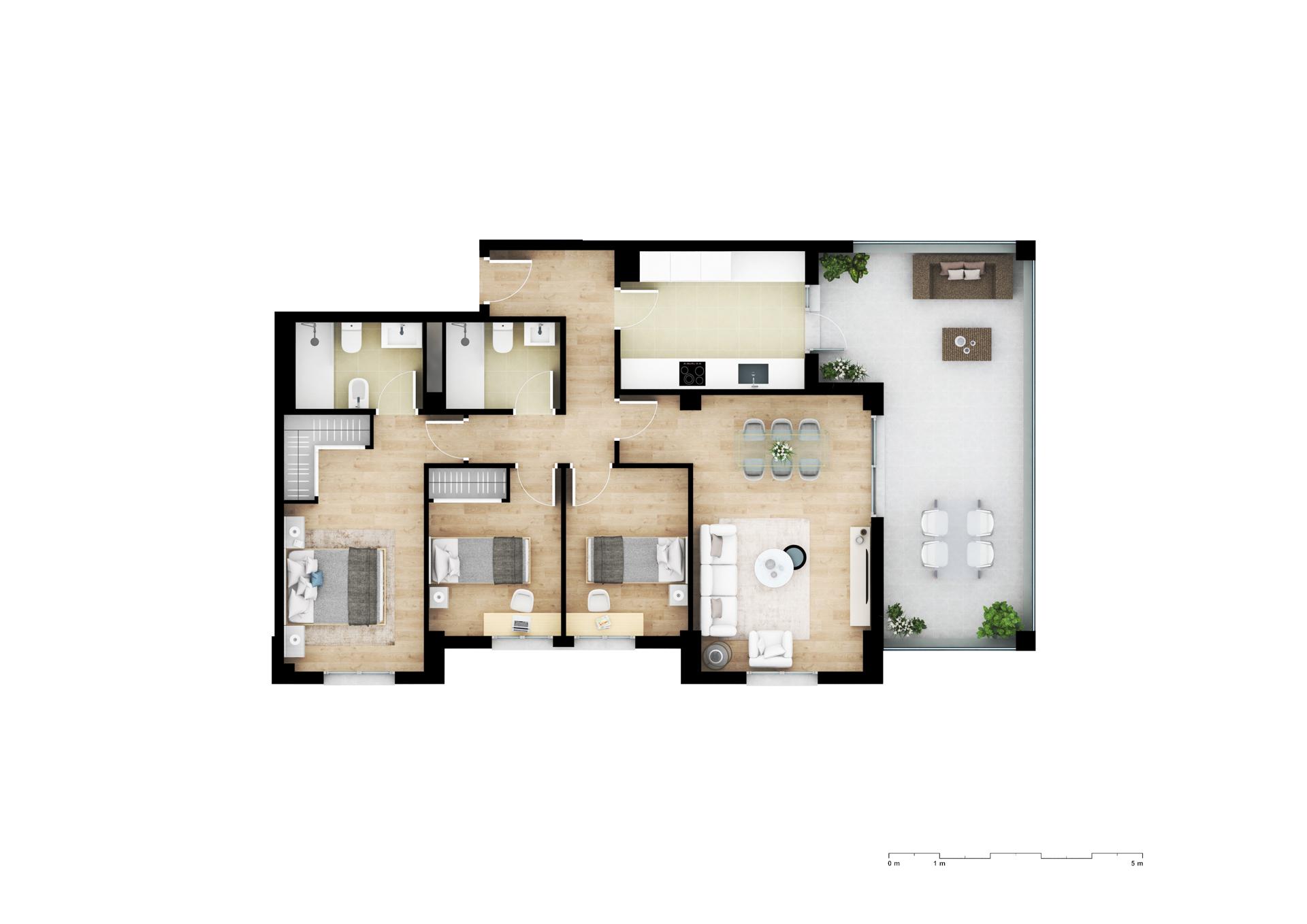 Residencial La Laguna | Terrazas